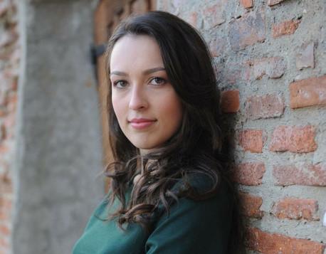 Junge Talente an der Euro-Schulen: Anisoara Maftei stellt